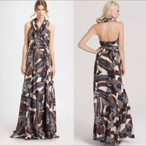 Rachel Zoe Sasha printed silk maxi dress